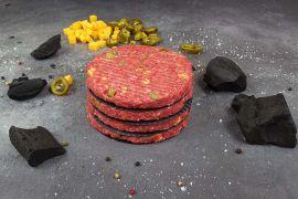 Black Angus Jalapeño Cheddar Burger
